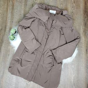 MaxMara quilted duck down coat